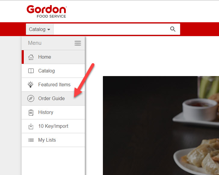 Restaurant Resource Group: Export Your Gordon Foodservice